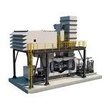 turbina de gas / de dos ejes / para generación de energía / para aplicaciones de tracción mecánica