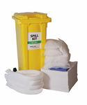 kit de emergencia para contaminación por hidrocarburos / para productos peligrosos