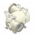 compresor de gas / estacionario / centrífugo / lubricado