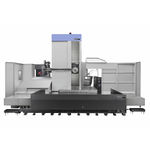 mandrinadora-fresadora CNC / horizontal / 4 ejes / de alta precisión