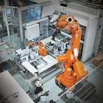 robot articulado / de manipulación / de paletización / de carga