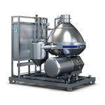 separador centrífugo / de leche / para la industria alimentaria / vertical