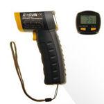termómetro de infrarrojos / digital / portátil / sin contacto