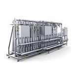 unidad de ultrafiltración de membrana / para agua / de acero inoxidable