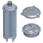 filtro hidráulico / de cartucho / de retorno
