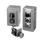 botón pulsador de selección / unipolar / cerrado