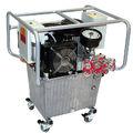 Bomba hidráulica de aceite / con motor eléctrico / de 3 etapas / de alto caudal