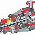 bomba centrífuga / de procesos / de arrastre magnético - max. 40 bar | PHL series