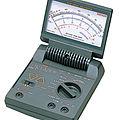 multímetro analógico - max. 1 000 V, max. 3 A | AU-31, AU-32