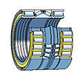 rodamiento de rodillos cilíndricos / de conos / combinado / para rollos - ø 20 - 500 mm