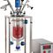 autoclave de laboratorio / de vidrio / de mesa / para aplicaciones en medio corrosivo