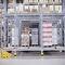 sistema de estanterías con paleta / depósito de almacenamiento / para cargas pesadas / dinámico