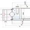 corona giratoria sin dientes / de bolas / de una sola hilera / de cuatro puntos de contacto