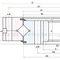 Corona giratoria sin dientes / de bolas / de una sola hilera / de cuatro puntos de contacto 1 series Xuzhou Wanda Slewing Bearing Co., Ltd.