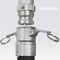 racor de tubos flexibles / rápido / de seguridad