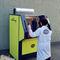 prensa de balas de carga frontal / de cajas / para papel / para aluminio