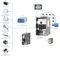 Servo-amplificador AC / multieje / compacto / de alta eficacia AKD PDMM® Motion Controller and Drive Kollmorgen Europe GmbH