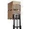 Apiladora eléctrica / para conductor sentado / para almacén / para el transporte de 2 paletas a la vez DT series CROWN