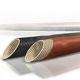 funda trenzada / para cables / aislante / fibra de vidrio