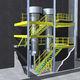 entreplanta industrial con varios niveles / para suelo industrial / para plataforma