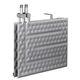 intercambiador de calor de placas / líquido-líquido / de acero inoxidable / de titanio