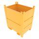 cajón de metal / de transporte / para polvo / apilable