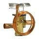 válvula termostática de expansión / de acero inoxidable / de latón / para climatización