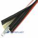 funda de protección / tubular / para tubos flexibles / aislada