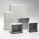 caja eléctrica mural / de poliéster / de exterior / para distribución eléctrica baja tensión
