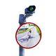 espejo de seguridad / óptico / convexo / de fibra acrílica