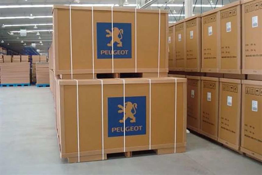 Caja De Cartón Modular Para El Envío Y El Almacenamiento 21057