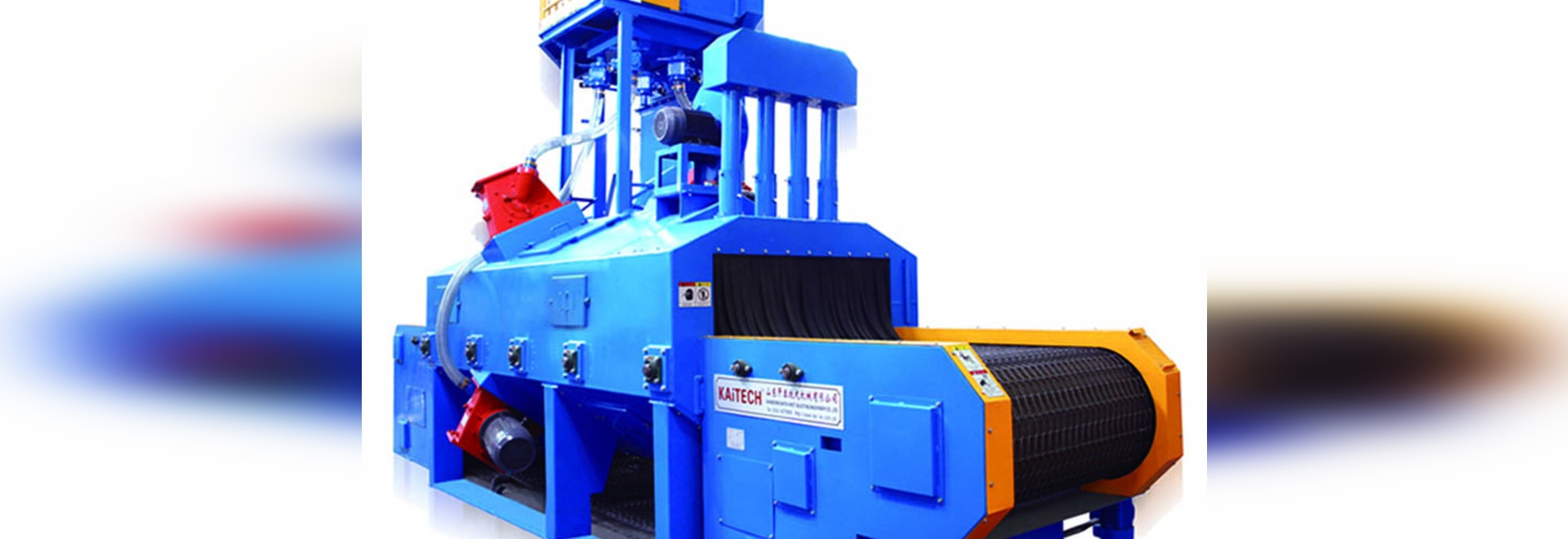 Alambre Mesh Belt Shot Blasting Machine de QWD