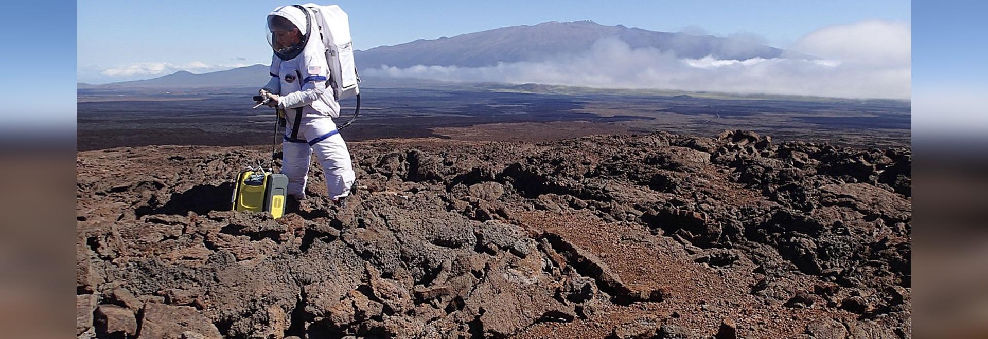 Descubren un gas que permitirá a los humanos respirar en Marte