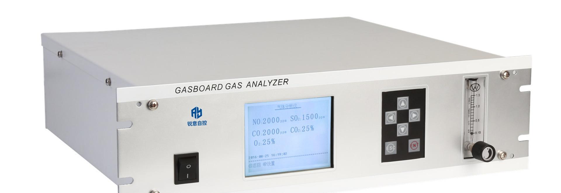 Analizador-Gasboard infrarrojo en línea del humo 3000 más