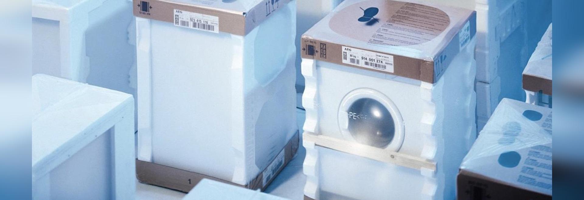 Aparato electrodoméstico cada vez más pequeño del maschine
