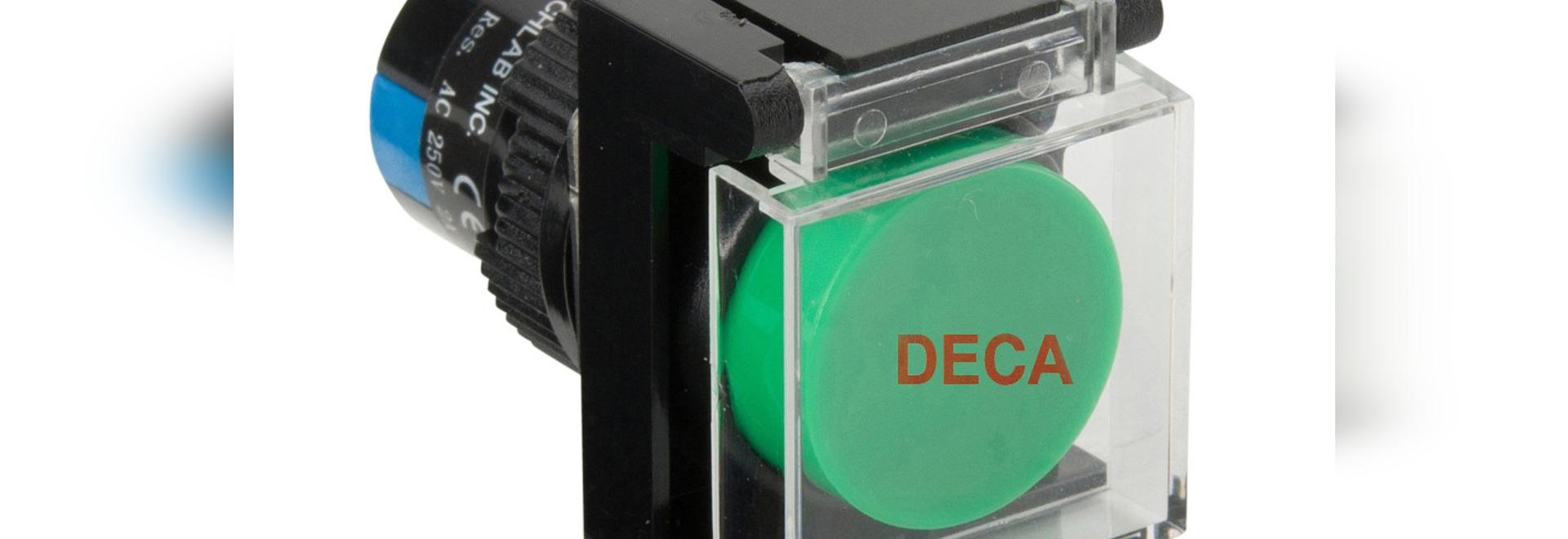 Botones Φ16mm del acuerdo de DECA
