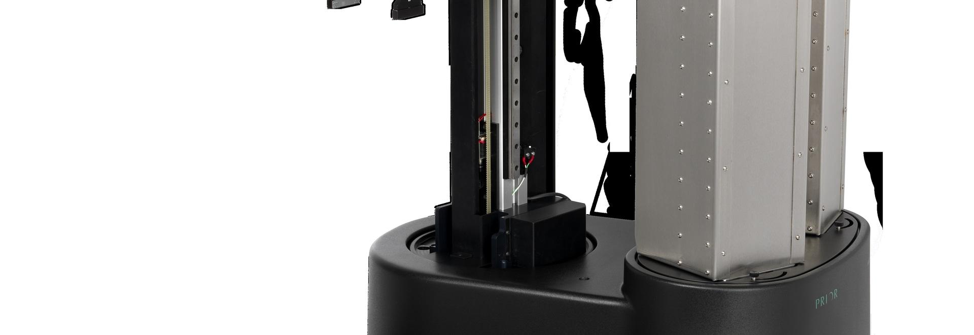Cargador robótico de Microplate del microscopio usado para automatizar la prueba de la solubilidad