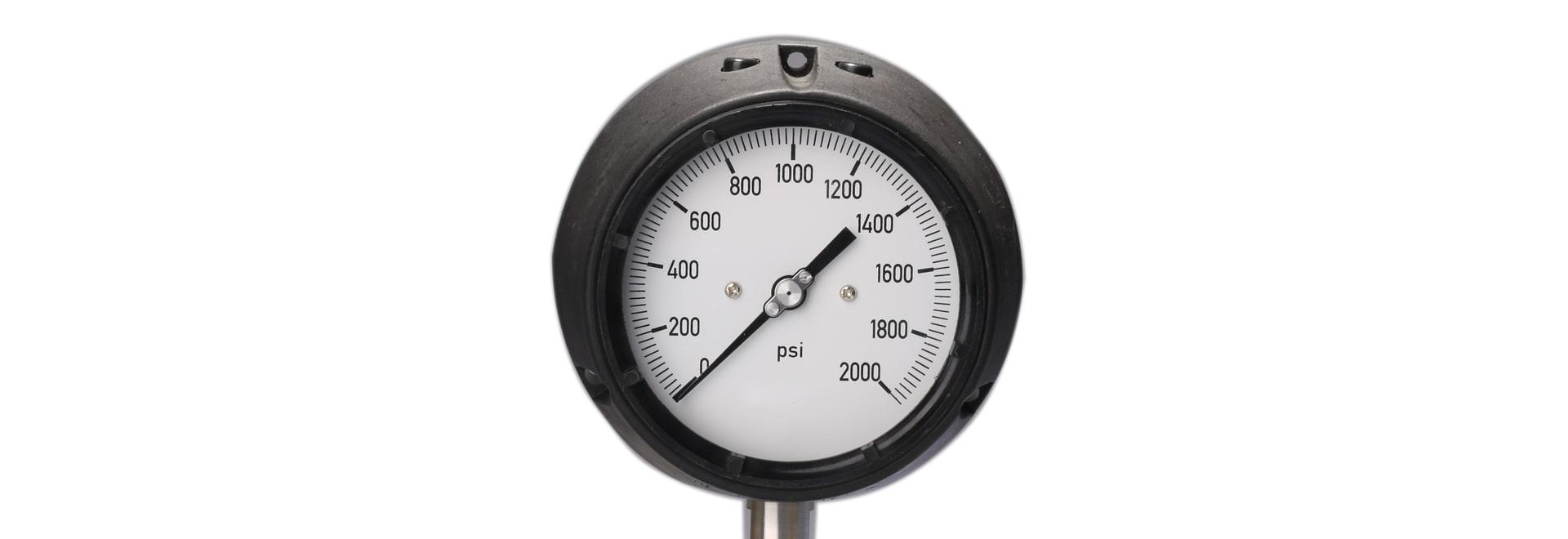 La clasificación del manómetro