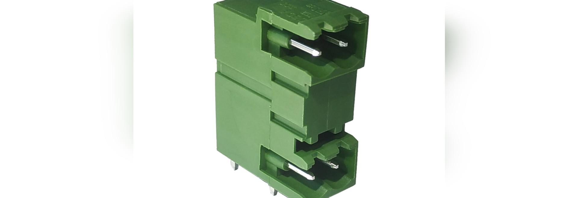 Conector macho de DECA, nivel doble Jefe-modular