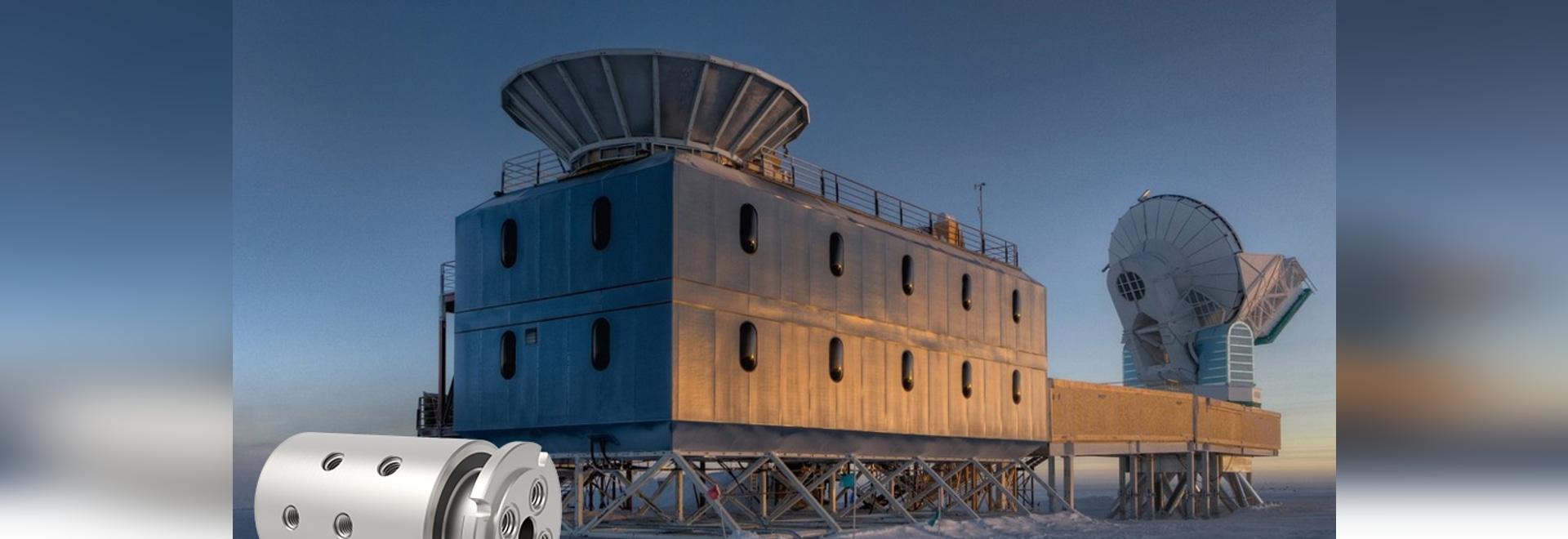 DSTI desempeña papel en la investigación de la astrofísica de South Pole