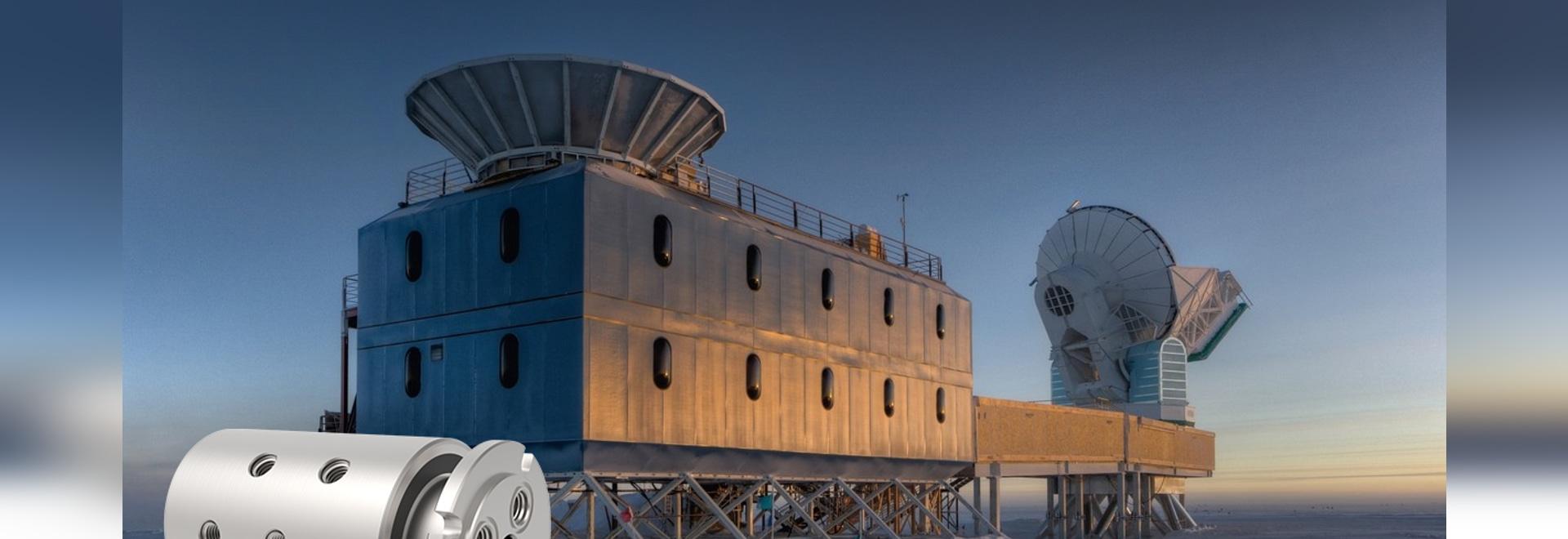 DSTI en la estación de Amundsen-Scott South Pole
