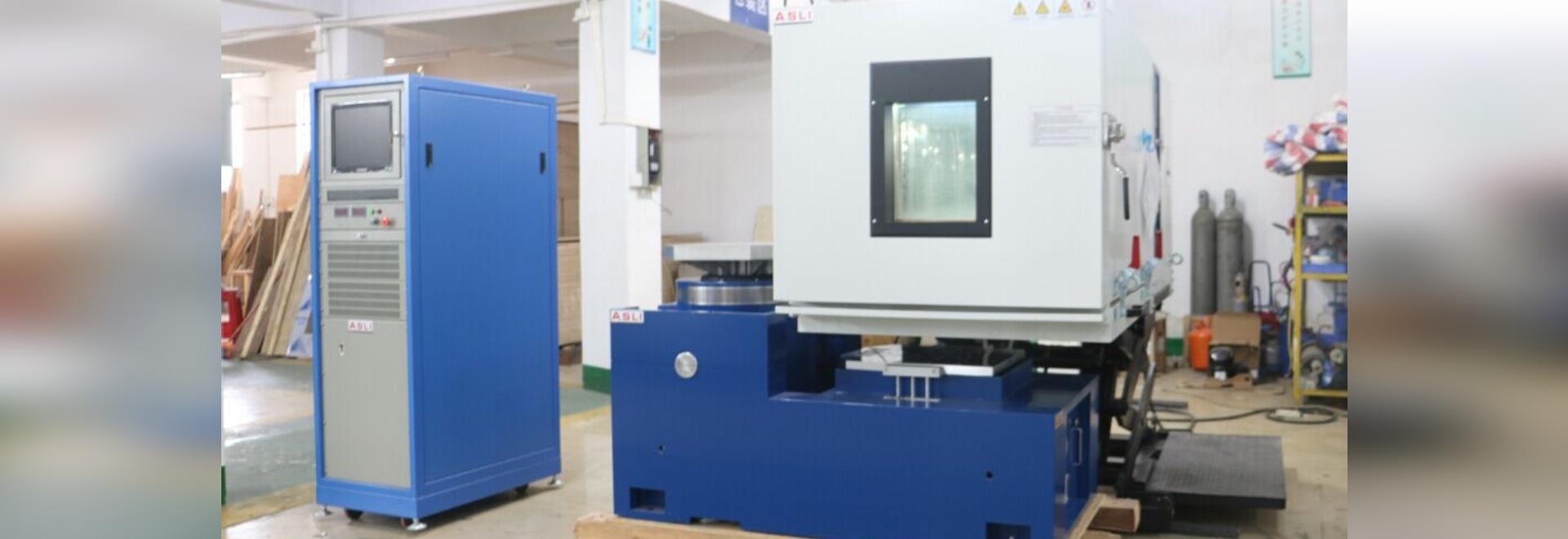 Electro equipos de prueba dinámicos de la humedad de la temperatura del sistema de prueba de vibración