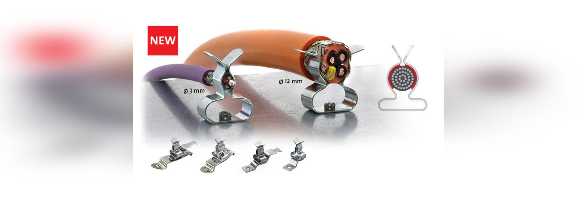 EMC Clip de pantalla MSKL con rango amplio de diámetros