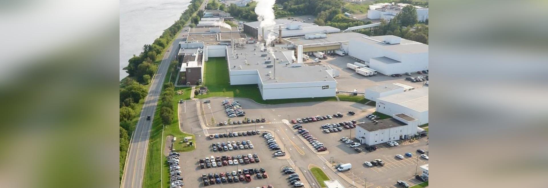 Extensión de la planta de las patatas fritas de Florenceville-Bristol, Nuevo Brunswick