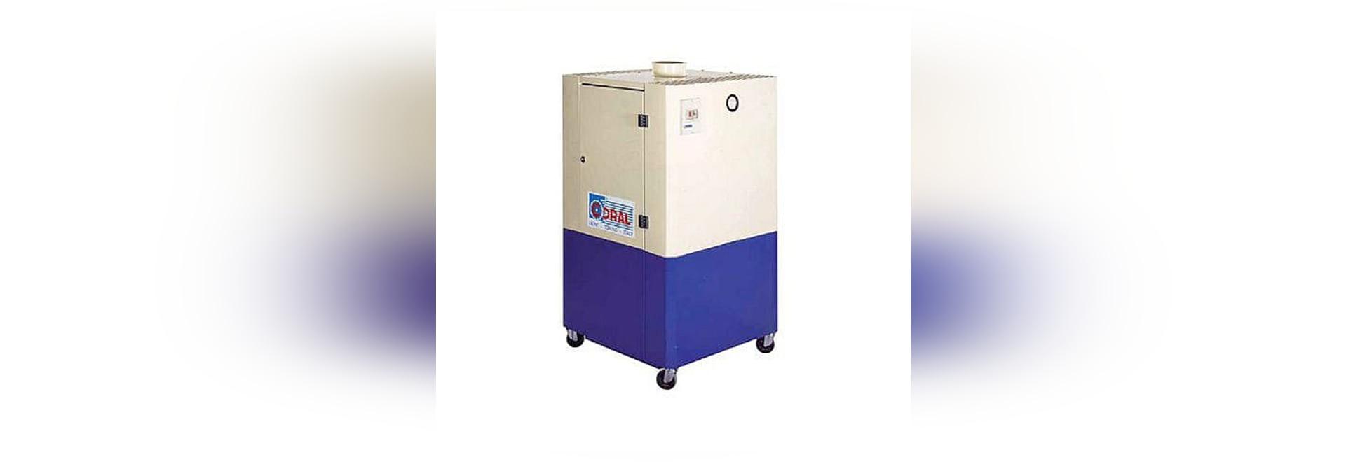 Extractor móvil de soldadura del humo con el filtro