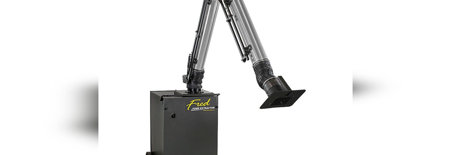 Extractor portable del humo de soldadura de Fred JR: Un funcionamiento mejor en un costo más bajo