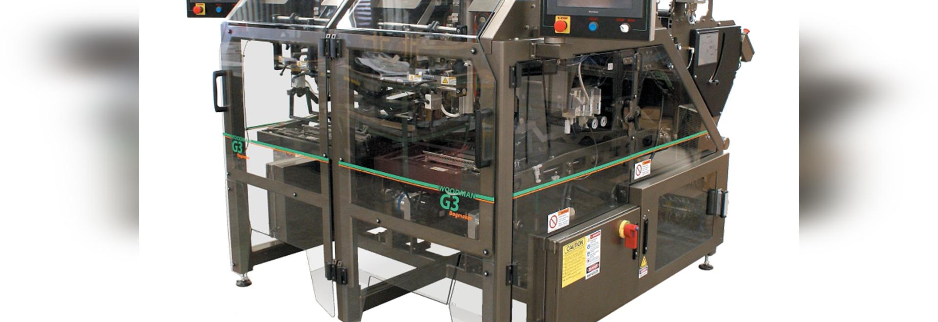 El fabricante del bolso de los snacks puede producir 240 bolsos por minuto