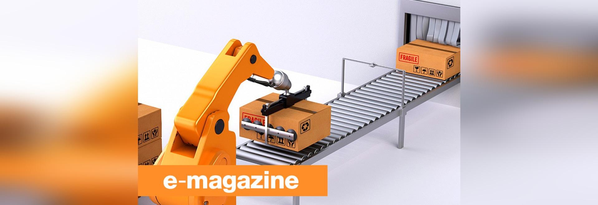 Fácil de usar y adaptable: Los nuevos embaladores robóticos se mueven sobre las líneas de montaje
