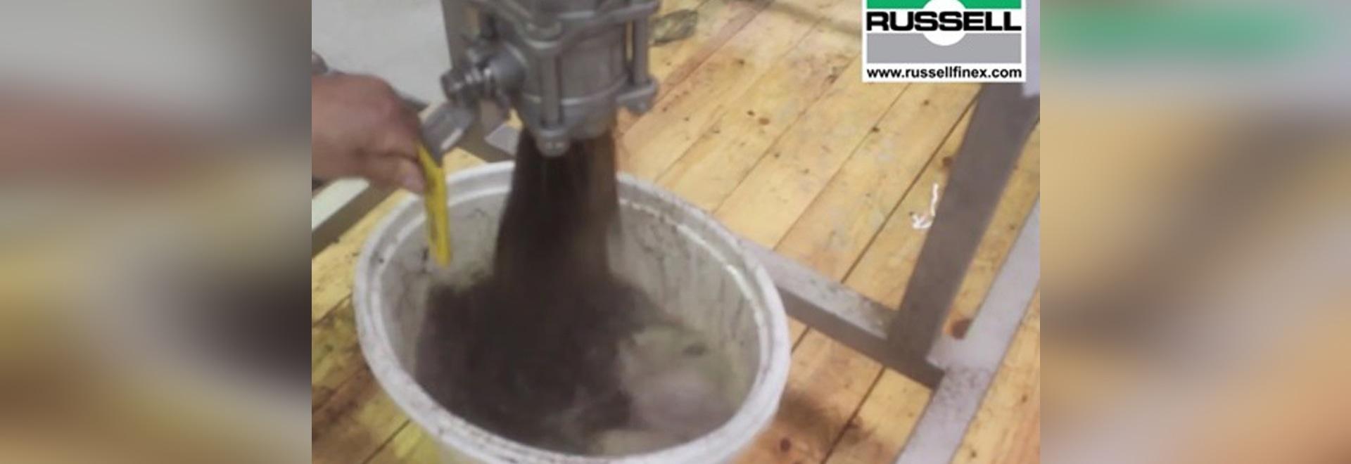 Filtro en línea para el té líquido