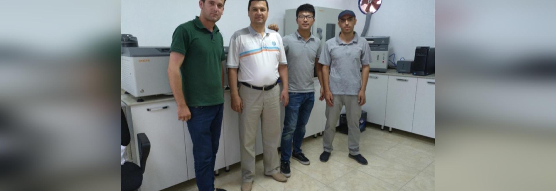 Instalación de Tayikistán